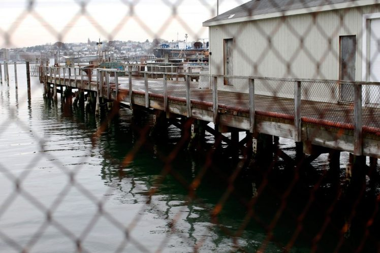 S Portland pier